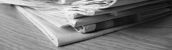 Zeitungen - totes Medium oder neue Chance?