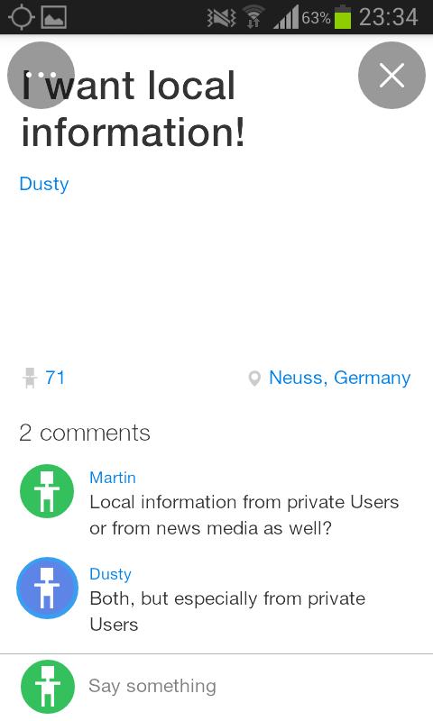 Plague: Lokale Inhalte von Privatnutzern (Screenshot Dezember 2014)