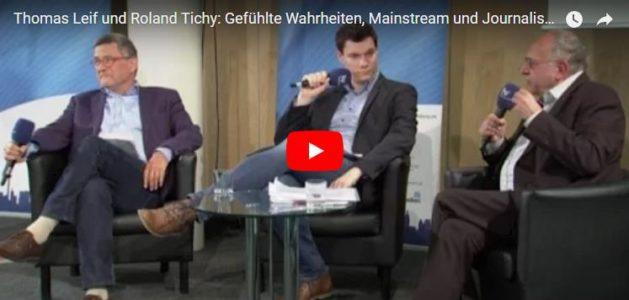Der hr hat die Diskussion zwischen Leif und Tichy in voller Länge als Video auf YouTube veröffentlicht.