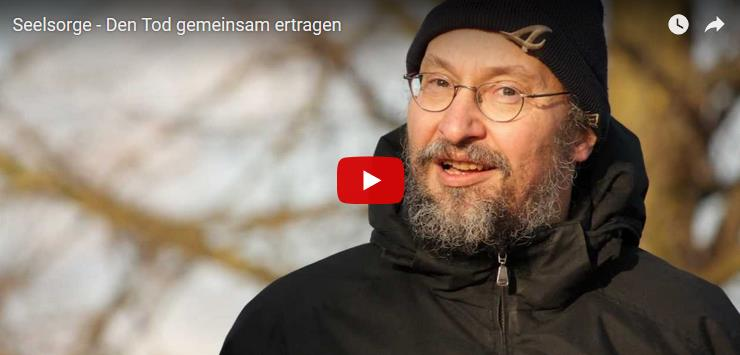 "Screenshot: ""Seelsorge - Den Tod gemeinsam ertragen"" im YouTube-Player"